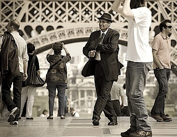 Trocadéro scene # 10 - by Gregory Bastien