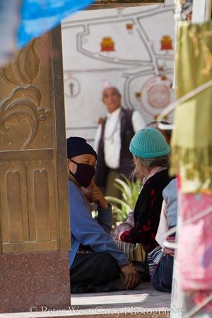 Socializing in Nepal