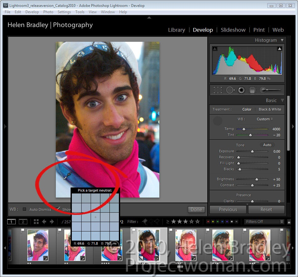 How to fix color cast in photoshop - Lightroom_color_fix_step1 Jpg To Start Off Color Correcting