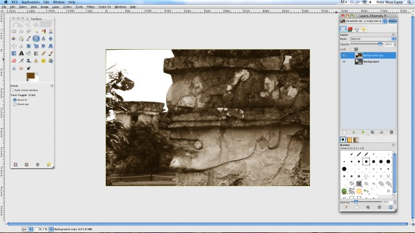 Creating Sepia Toned Images In GIMP