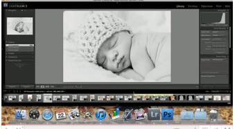 Using Lightroom's 'edit in photoshop' feature