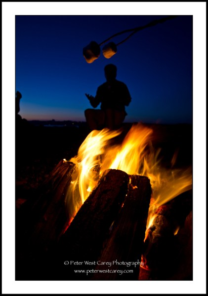 Image: Campfire At Semiahmoo Resort - Blaine, Washington, USA