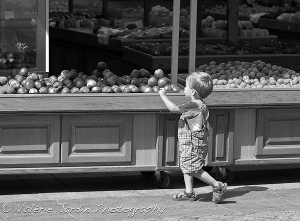 Image: Candid street photography often means finding the stage and waiting for the action to take pl...