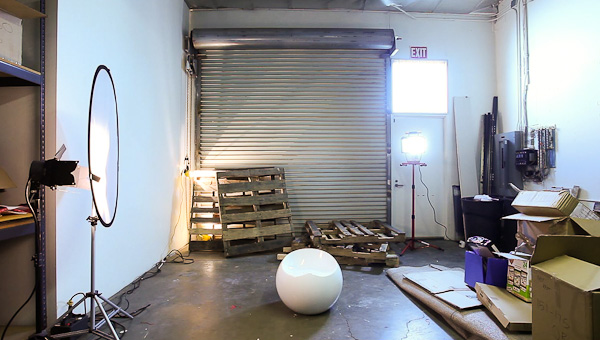 Creating and Lighting a Scene on a Home Depot Lighting Budget