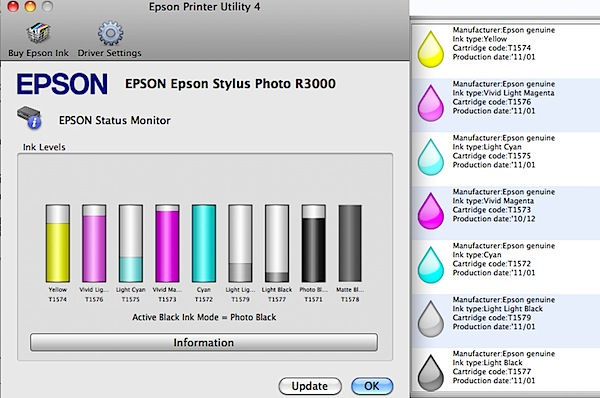 Epson Stylus Photo R3000 Pigment Inkjet Printer Review