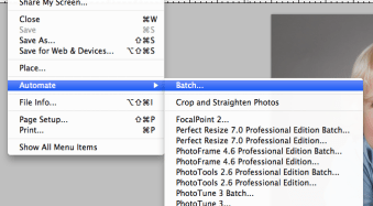 How to play Photoshop Actions on Multiple Images with Batch Editing