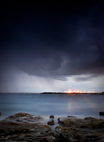Bare Island Storm