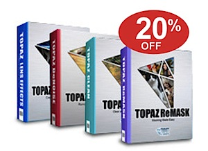 Save 20% on All Topaz Post Processing Software – Today Only