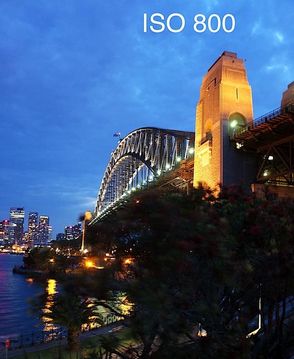 Sony NEX-5N Harbour Bridge ISO 800.JPG