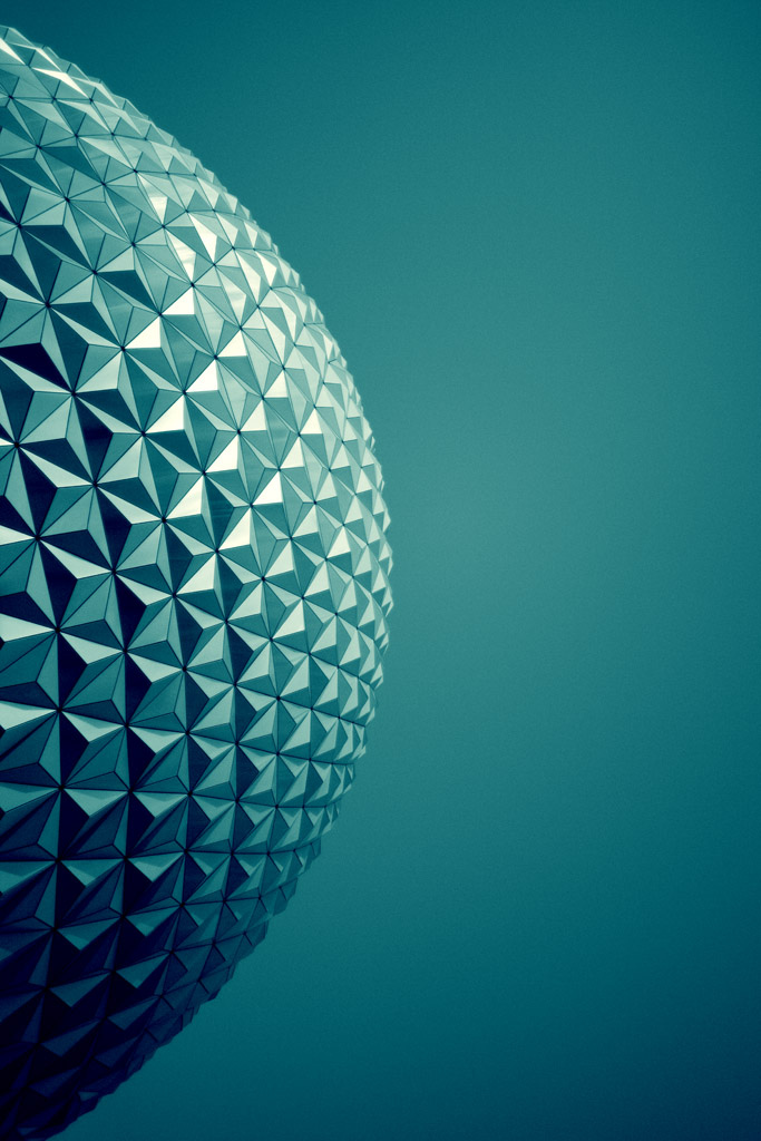 Geometric musings in an abstract and magical world (Spaceship Earth)