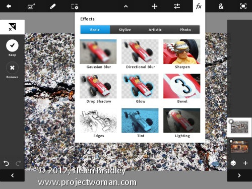 Edit and Create on the Go with Adobe Photoshop Touch for iPad