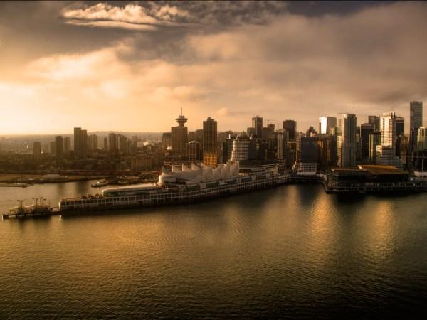 Dawn Image - city scape