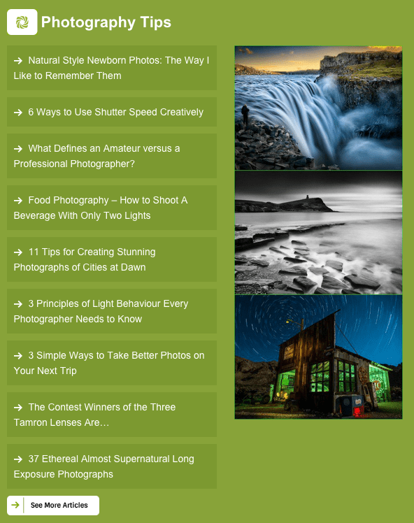 digital photography newsletter