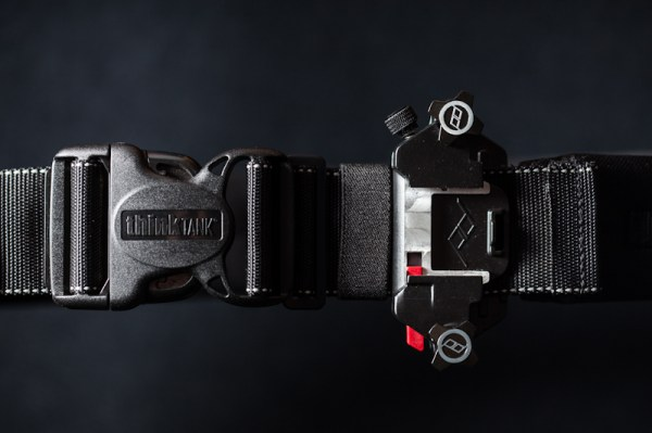 Image: Capture and thinkTankPhoto Pro Speed Belt play very nicely together