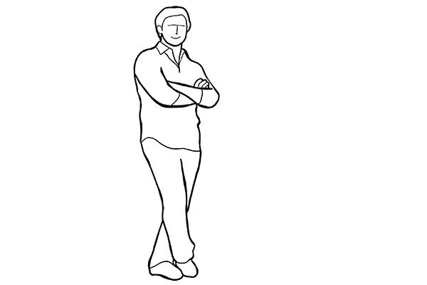 Guia de poses para tirar ótimas fotos de homens