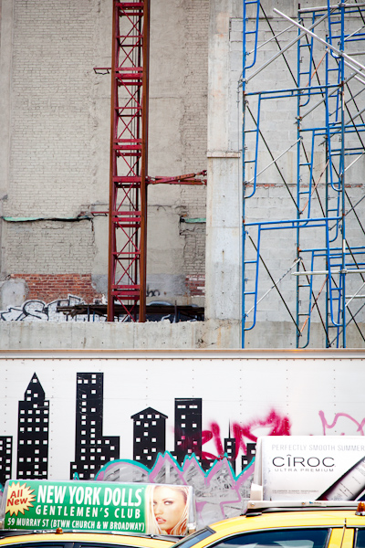 Image: Layers of the City, East Village.