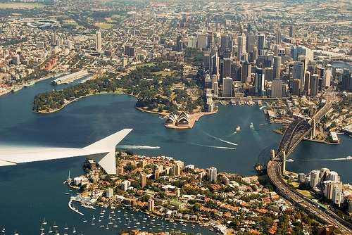 5 - Sydney From Above