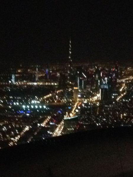Image: Downtown Dubai after take off, UAE