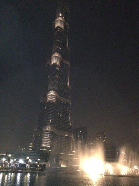 Image: Water show, Duabi, UAE