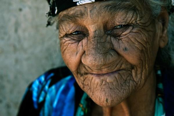 Image: Old lady, Uzbekistan :: 55 mm, fstop 4.5, 1\\160
