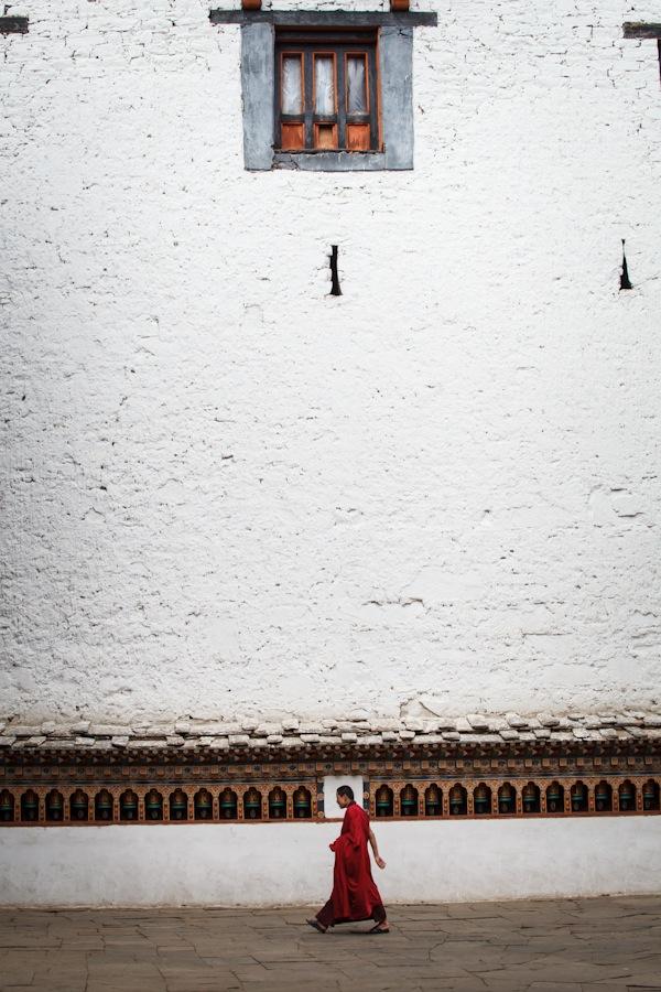 27_Lone Monk in Paro.jpg