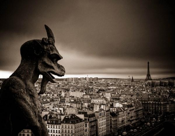 Vista desde la torre [ NOTRE-DAME DE PARIS ] Abril 2010