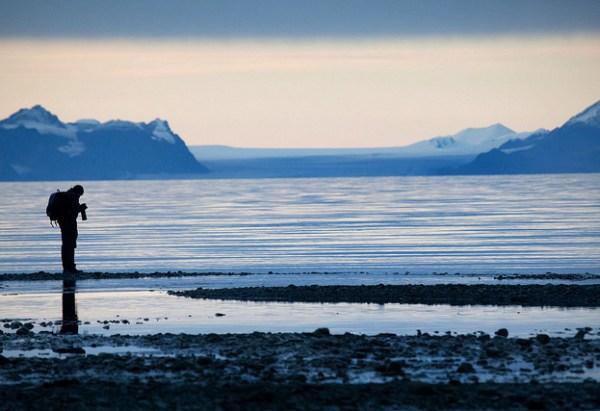 Arctic glacial silhouette © Rob Watkins