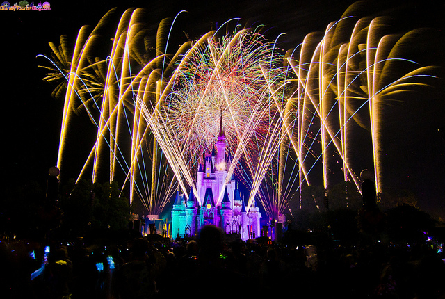 98 Seconds of HalloWishes Fireworks