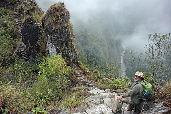 Hiking Huanya Picchu