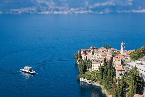 Image: Once I set focus on the town of Varenna on Lake Como I no longer needed to worry about focus...