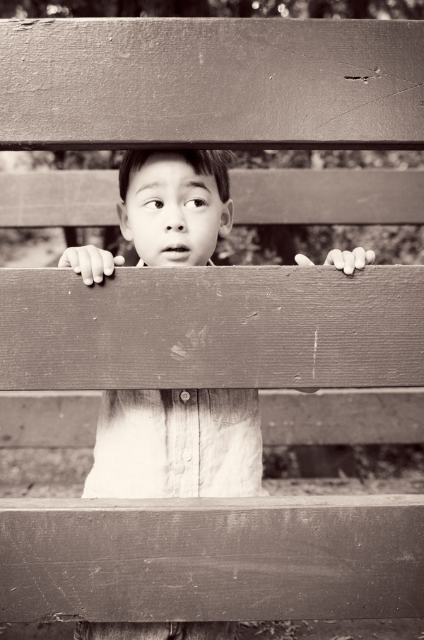 Annie Tao Photography Photographing Shy Children being themselves
