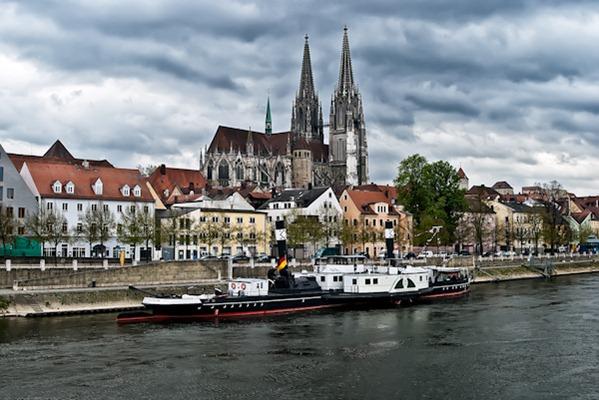 Regensburg and the Danube