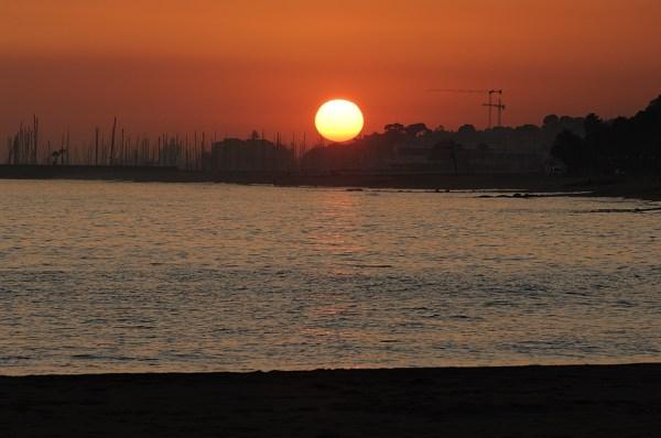 Image: Beach & Sea Sunset