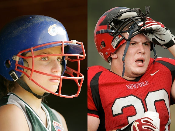 Image: Sideline portraits can sometimes be more impactful that the action on the field. Don't...