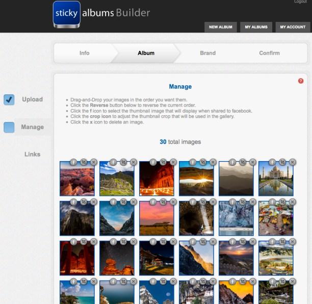 StickyAlbums Mobile Portfolios [REVIEW]