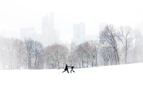 Couple in Sheep Meadow, Central Park