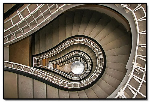 Black Madonna Stairs, Prague