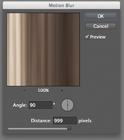 Photoshop Motion Blur Filter Options