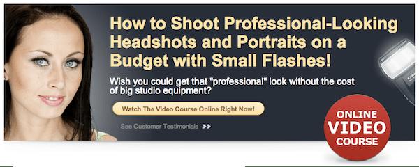 Deal 2: 30% off Phil Steele's Flash Portrait Course