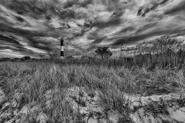Image: The dune grass created a lot of foreground interest for me, with a nice texture that pointed...