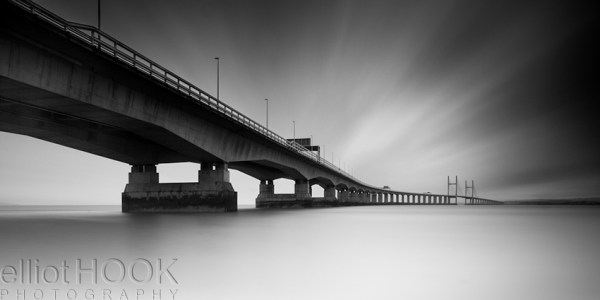 How I shot and edited - the second severn crossing - final image