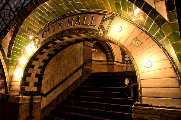 The Unused City Hall Subway Station