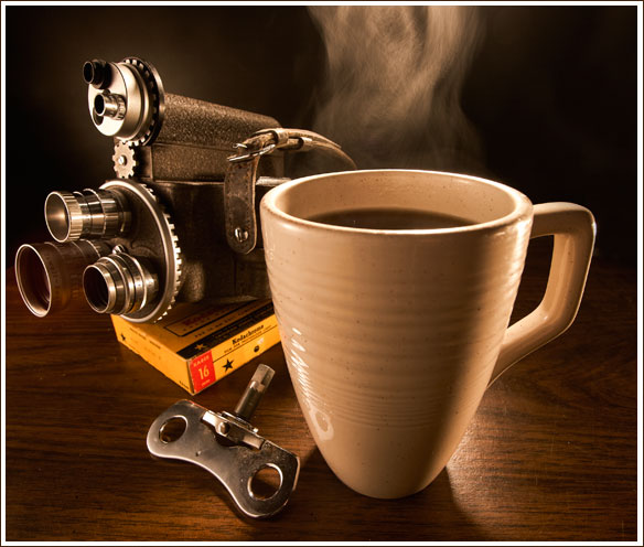 How to Photograph a Steaming Cup of Coffee