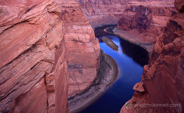 Colorado River, Arizona by Anne McKinnell