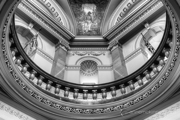 Legislature Rotunda, Victoria, British Columbia by Anne McKinnell