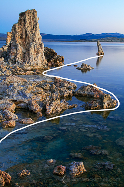 Mono Lake, California by Anne McKinnell