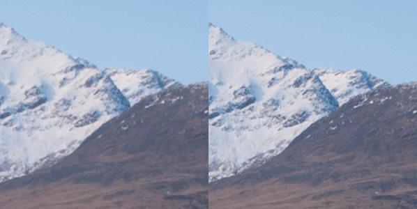 Focus stack comparison background