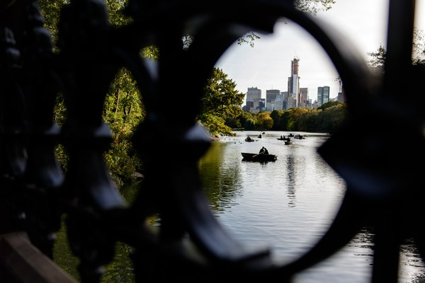 I ventured into Central Park in New York City without a real game plan in mind. I found a sundial and started shooting that, and then went in search of more circles. Found this ironwork and used it to frame a pair of lovers in a rowboat. 1/160. f/2.8, ISO 100. EOS 5D Mark III, EF 24-70 f/2.8L II at 24mm.