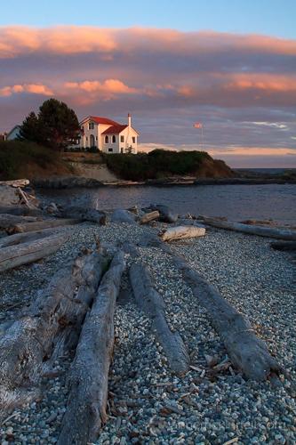 Linhas principais: Sunset at Ross Bay, Victoria, British Columbia, por Anne McKinnell