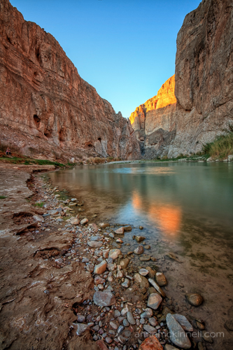 Leading Lines: Boquillas Canyon by Anne McKinnell